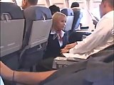 ScreenShot busty stewardess fucked in a plane 1