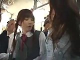 ScreenShot japanese schoolgirls banged in bus 2