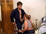 ScreenShot busty bbw mom gets stretched on a bed 1