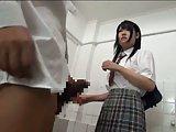 ScreenShot groped and fucked on school toilet 3
