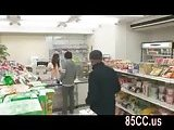 ScreenShot cute convenience store staff fucked by boss 3