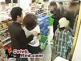 ScreenShot japanese girl gets molested in a store full of people  asian 6