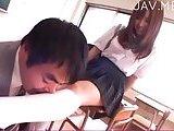 ScreenShot hottie loving foot fetish 3