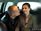 ScreenShot fake taxi driver in threesome with couple 2