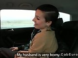ScreenShot fake taxi driver in threesome with couple 5