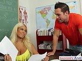 ScreenShot very sexy teacher bridgette b fuck in classroom 2