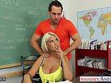 ScreenShot very sexy teacher bridgette b fuck in classroom 3