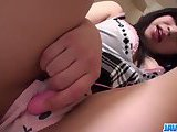 ScreenShot japan schoolgirl deals huge dick in pov 6