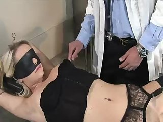 Kissy Capri sodomized by her gyno part 1