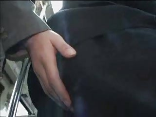 Handjob in the bus