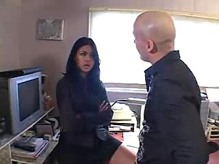 Hardcore domination sex with boss