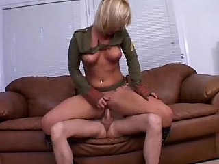 Fetish anal sex with a yummy blonde
