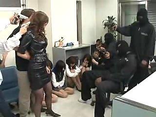 Asian Hostage Nailed By Ebony Hijackers