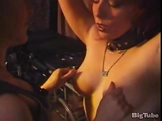 Hot lesbos in BDSM hard romps