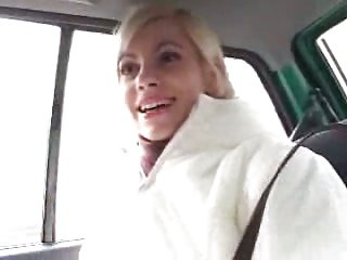 Blond slut for threesome
