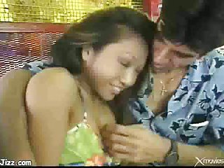 Asian dollie screwed with thick cock