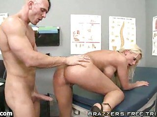 Titty blonde for abrupt cock insertions