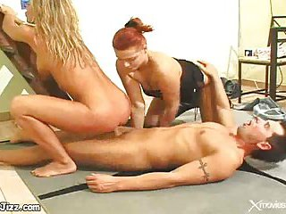 Anal sex and blowjob for chap dick