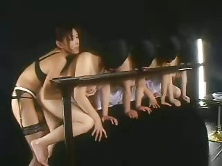 Milking big tits in hot BDSM session