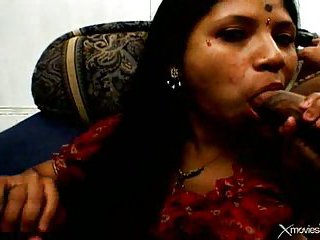 Double facial for indian milf
