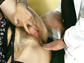 Hairy pussy medical examination
