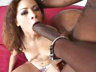 Hard ebony dick for luscious holes