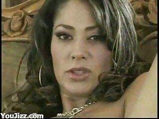 Big black prick for sexy Latina