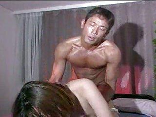 Japanese couple wild act