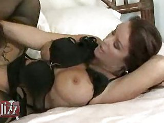 Sweet lesbians lick each other