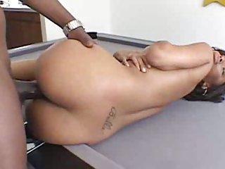 Pretty ebony requires big dick