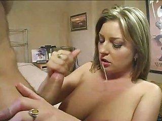 Hot blowjob and sex for big dick