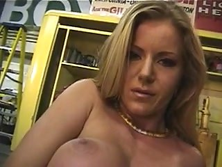 Hot solo by titty blonde