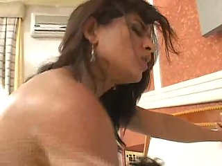 Whore anal and pussy for cock insertion