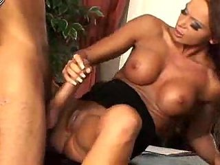 Table sex with busty kitty