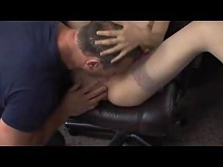 Anal fuck in office with strapping dude