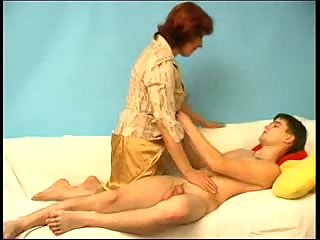 Son seduces mommy to bed on her date night 10