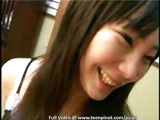 Asian trio masturbating