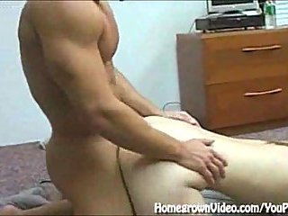 Doggy style for deeper cock penetration