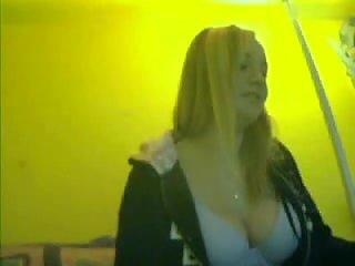 Teen with big boobs on camera