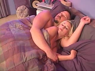 Morning anal fuck with blonde whore