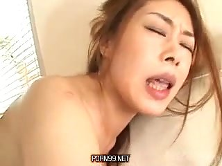Asian Milf And Her Toys!