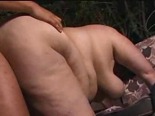 Outdoor sex with BBW
