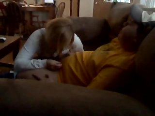 Homemade blowing with swallowing