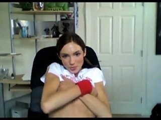 Horny teen solo for webcam