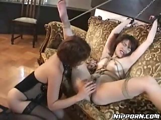 Japanese Lesbos In Action