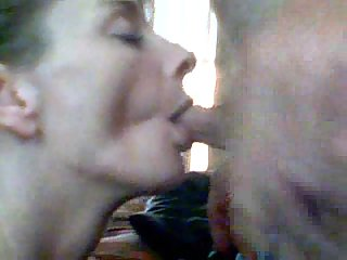 Angie loves to suck my pissing dick