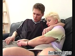 Anal penetration for hot mom