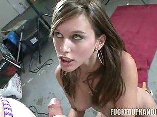 Sexual Bondage With Handjob