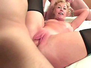 Randy Mom Gang Banged And Creamed