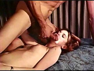 Nasty vintage sluts with hairy twats banged